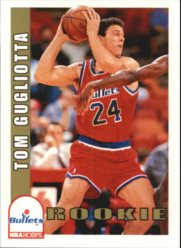 1992-93 Hoops #476 Tom Gugliotta RC