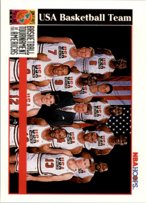 1992-93 Hoops #NNO Team USA