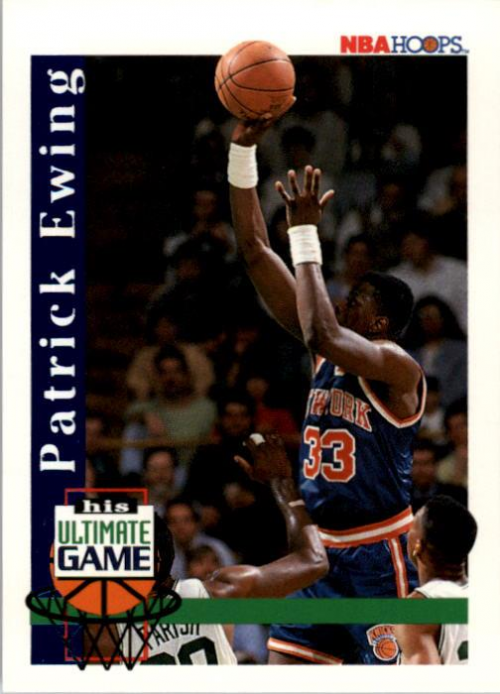 1992-93 Hoops #NNO Patrick Ewing Game/His Ultimate Game