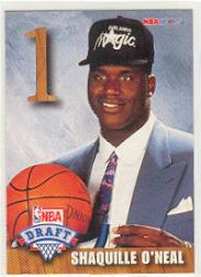 1992-93 Hoops Draft Redemption #A Shaquille O'Neal