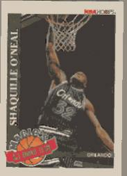 1992-93 Hoops Magic's All-Rookies #1 Shaquille O'Neal