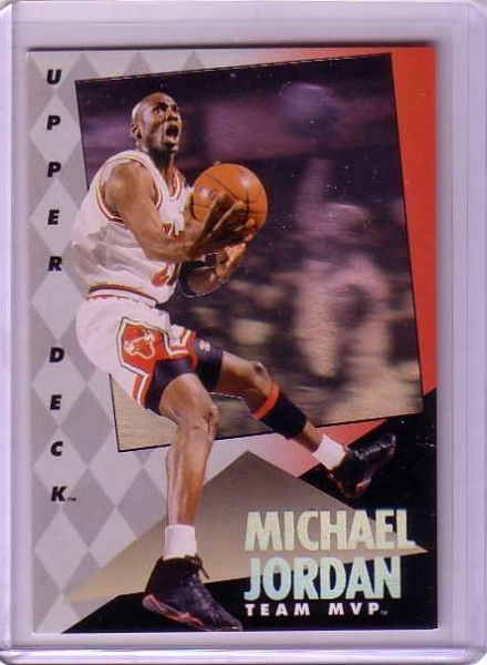 1992-93 Upper Deck MVP Holograms #4 Michael Jordan