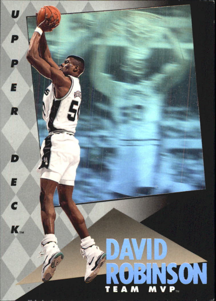 1992-93 Upper Deck MVP Holograms #24 David Robinson