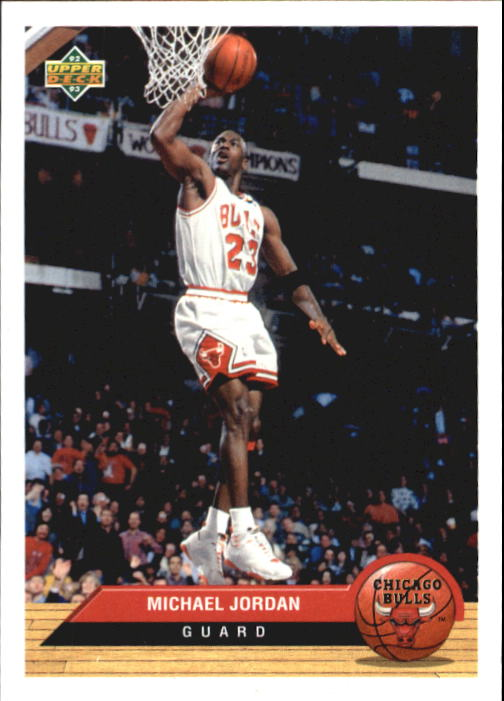 1992-93 Upper Deck McDonald's #P5 Michael Jordan