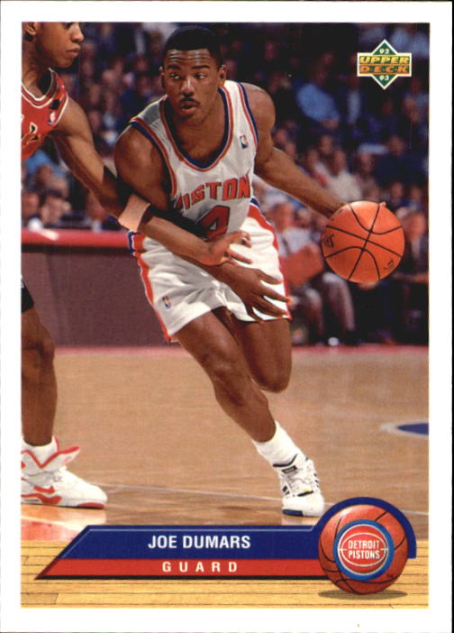 1992-93 Upper Deck McDonald's #P11 Joe Dumars