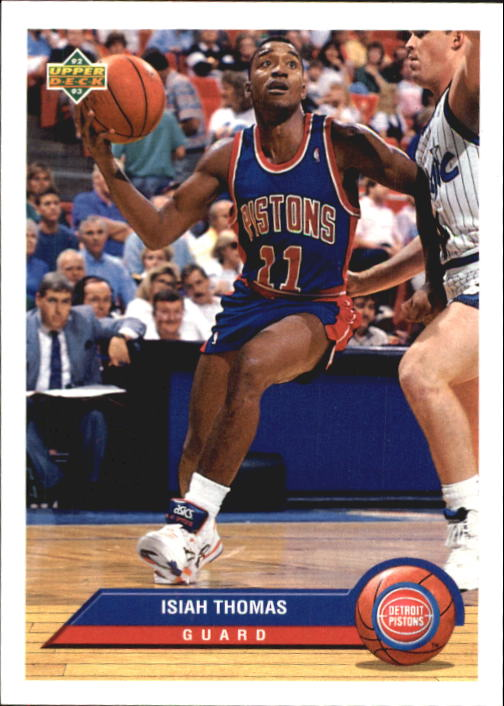 1992-93 Upper Deck McDonald's #P12 Isiah Thomas