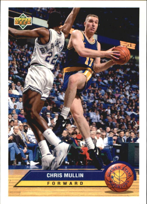 1992-93 Upper Deck McDonald's #P14 Chris Mullin