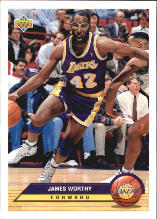 1992-93 Upper Deck McDonald's #P21 James Worthy