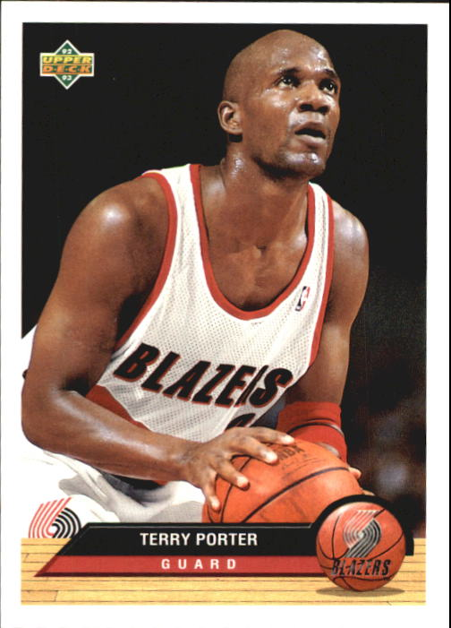 1992-93 Upper Deck McDonald's #P34 Terry Porter