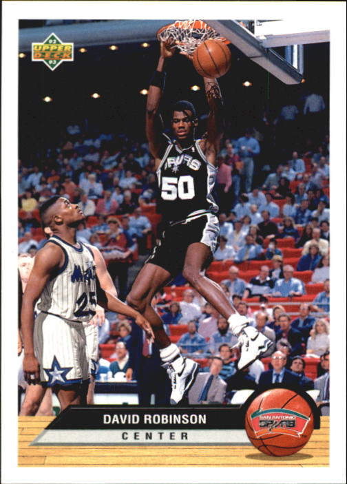 1992-93 Upper Deck McDonald's #P37 David Robinson