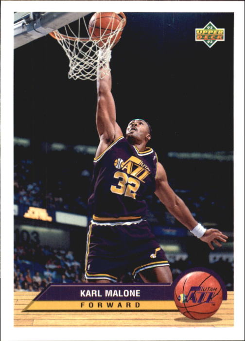 1992-93 Upper Deck McDonald's #P40 Karl Malone