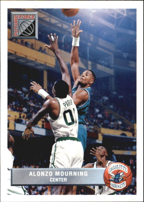 1992-93 Upper Deck McDonald's #P44 Alonzo Mourning
