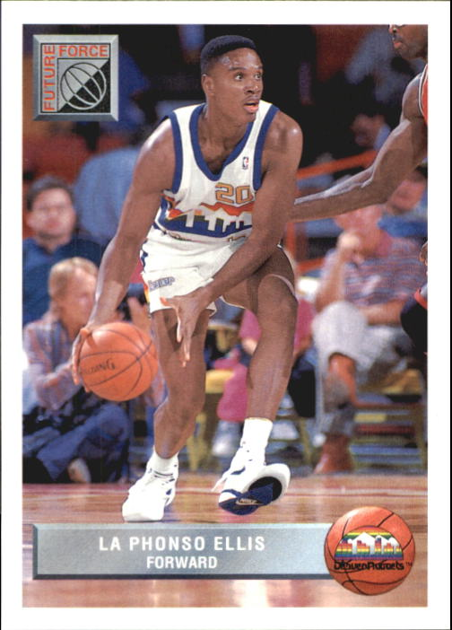 1992-93 Upper Deck McDonald's #P46 LaPhonso Ellis