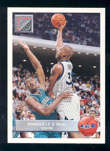 1992-93 Upper Deck McDonald's #OR5 Shaquille O'Neal