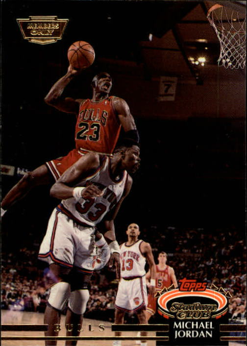1992-93 Stadium Club Members Only Parallel #1 Michael Jordan