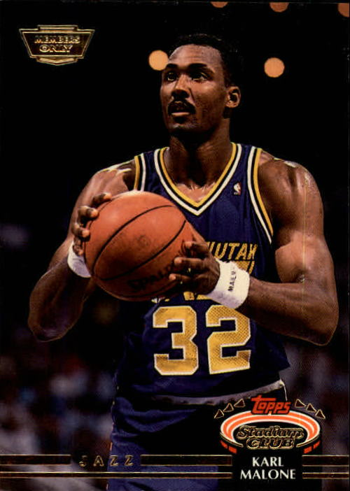1992-93 Stadium Club Members Only Parallel #13 Karl Malone