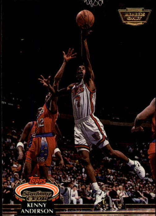 1992-93 Stadium Club Members Only Parallel #69 Kenny Anderson