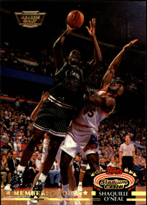 1992-93 Stadium Club Members Only Parallel #201 Shaquille O'Neal MC