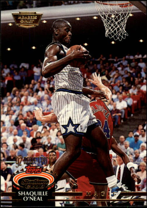 1992-93 Stadium Club Members Only Parallel #247 Shaquille O'Neal