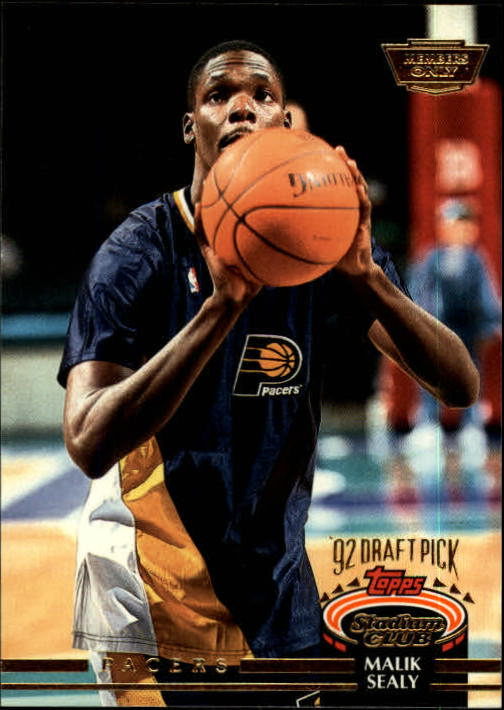 1992-93 Stadium Club Members Only Parallel #254 Malik Sealy