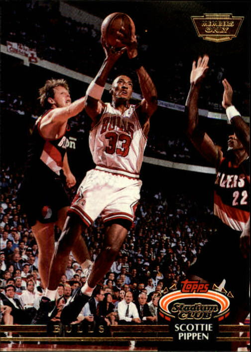 1992-93 Stadium Club Members Only Parallel #367 Scottie Pippen