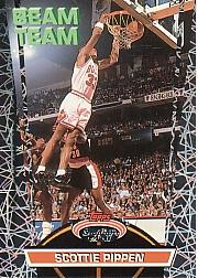 1992-93 Stadium Club Members Only Parallel #BT5 Scottie Pippen