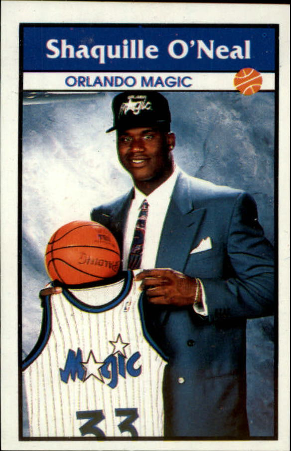 1992-93 Panini Stickers #1 Shaquille O'Neal