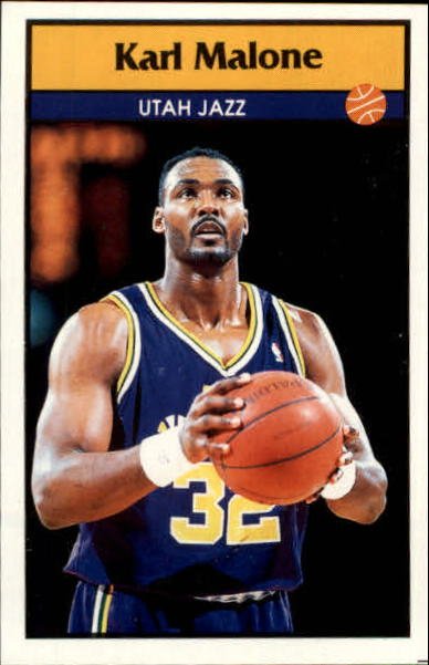 1992-93 Panini Stickers #104 Karl Malone