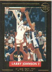 1992-93 Front Row LJ Pure Gold #3 Larry Johnson