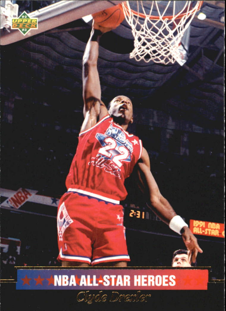 1992-93 Upper Deck All-Star Weekend #13 Clyde Drexler