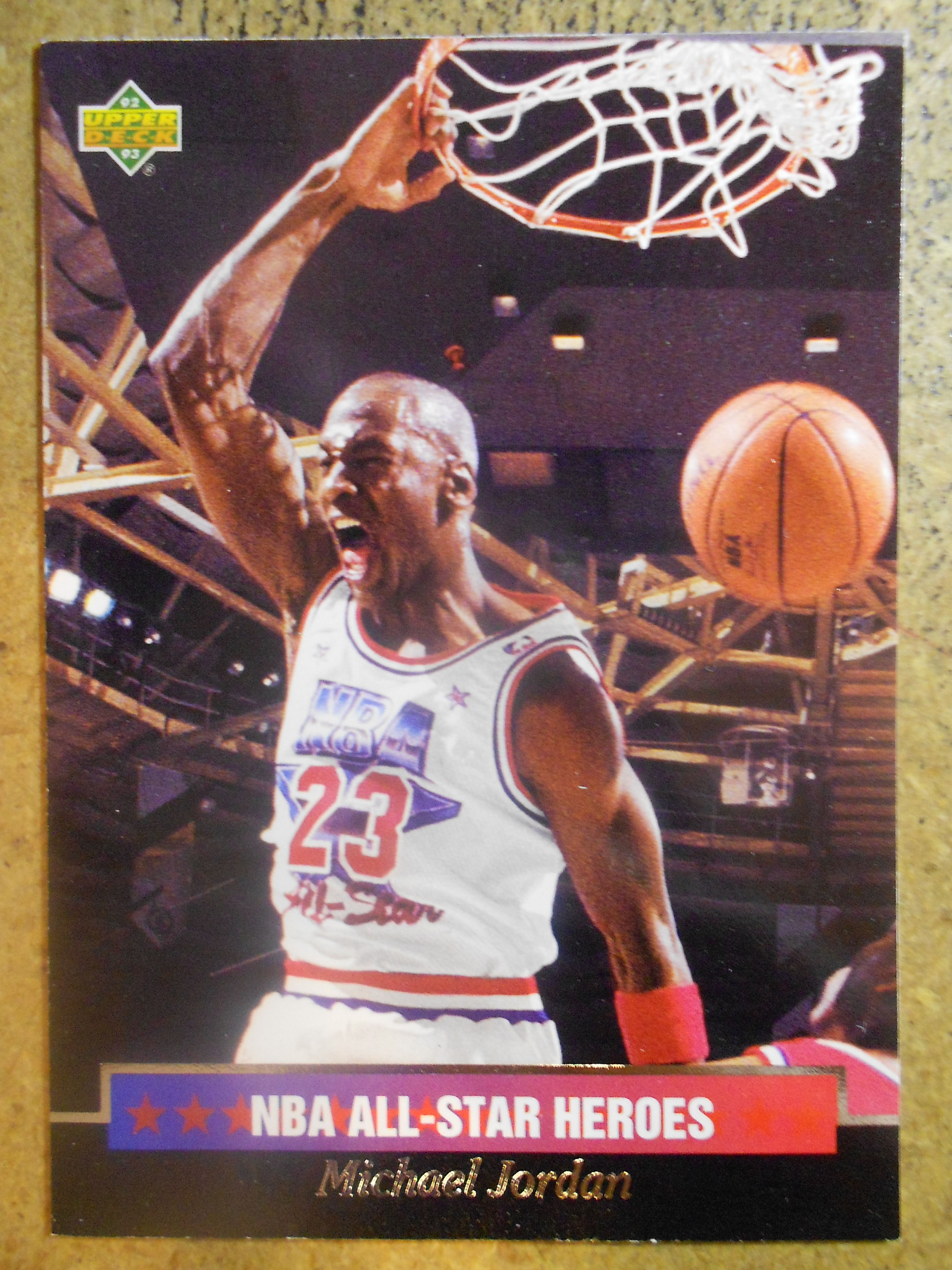 1992-93 Upper Deck All-Star Weekend #15 Michael Jordan