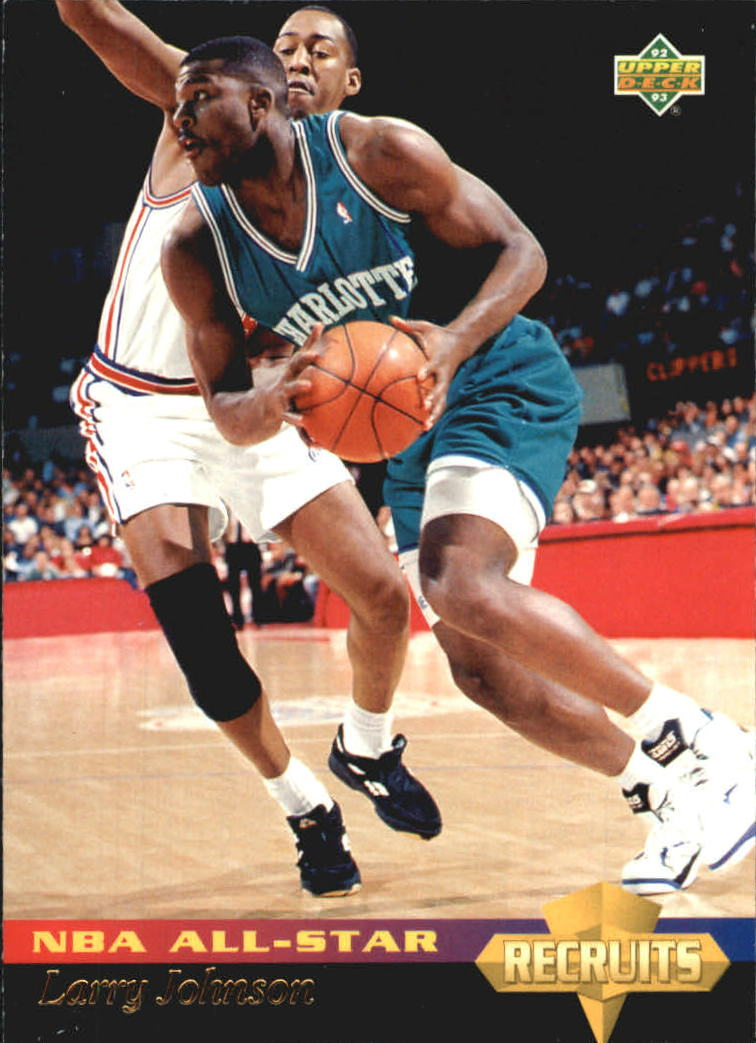 1992-93 Upper Deck All-Star Weekend #29 Larry Johnson