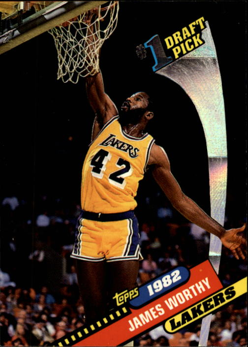 1992-93 Topps Archives #2 James Worthy FDP