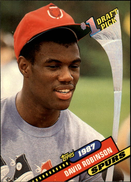 1992-93 Topps Archives #7 David Robinson FDP