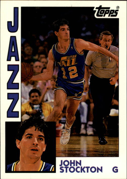 1992-93 Topps Archives #57 John Stockton