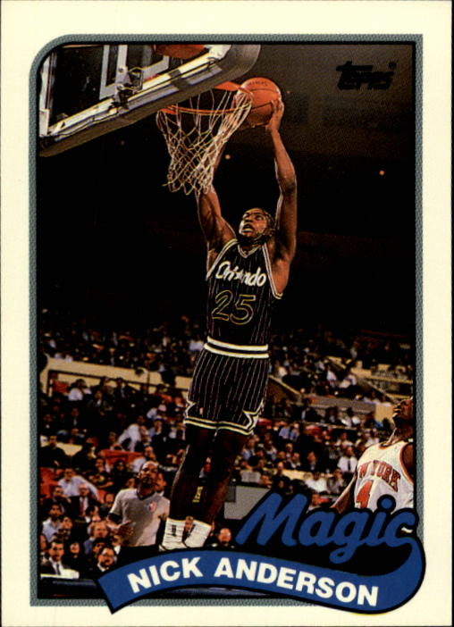 1992-93 Topps Archives #115 Nick Anderson