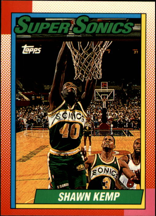 1992-93 Topps Archives #136 Shawn Kemp front image