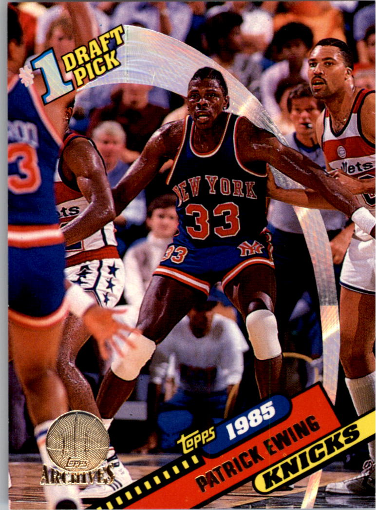 1992-93 Topps Archives Gold #5G Patrick Ewing FDP