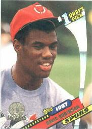 1992-93 Topps Archives Gold #7G David Robinson FDP