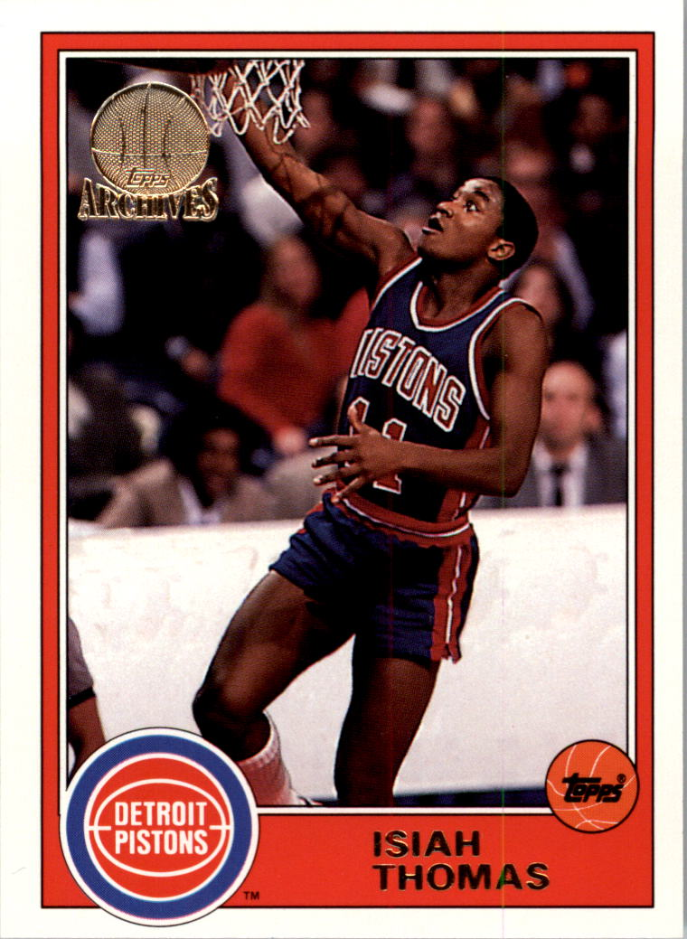 1992-93 Topps Archives Gold #20G Isiah Thomas