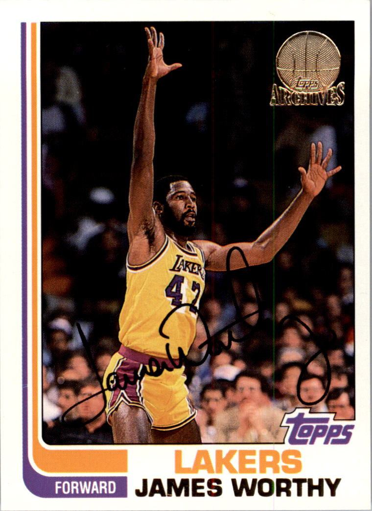 1992-93 Topps Archives Gold #31G James Worthy