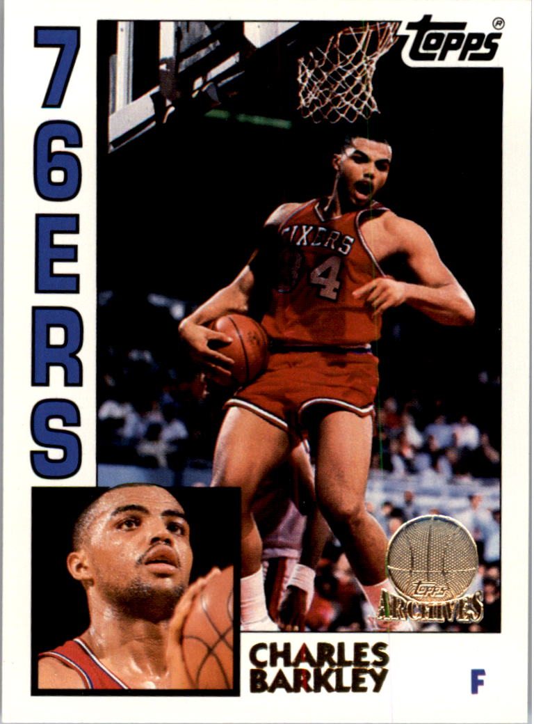1992-93 Topps Archives Gold #44G Charles Barkley
