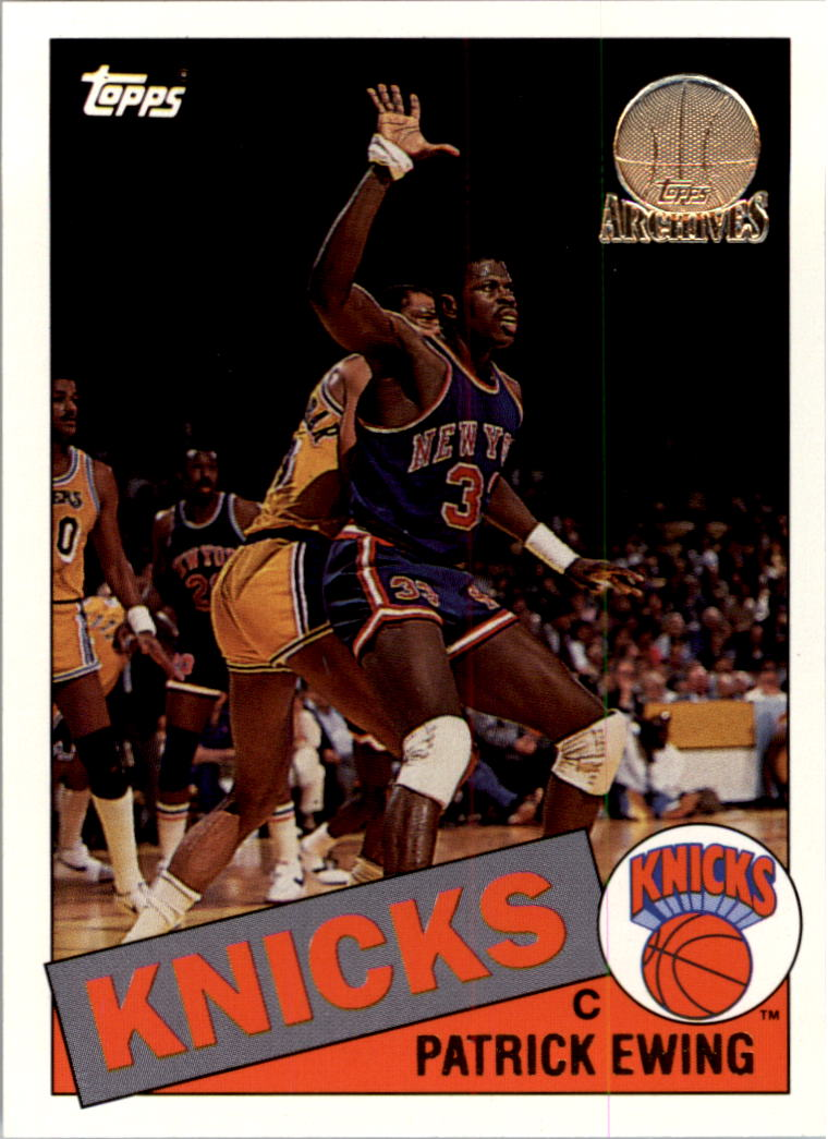 1992-93 Topps Archives Gold #64G Patrick Ewing