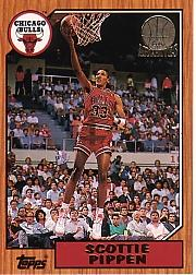 1992-93 Topps Archives Gold #97G Scottie Pippen front image