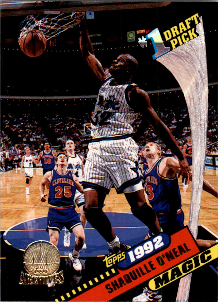 1992-93 Topps Archives Gold #150G Shaquille O'Neal