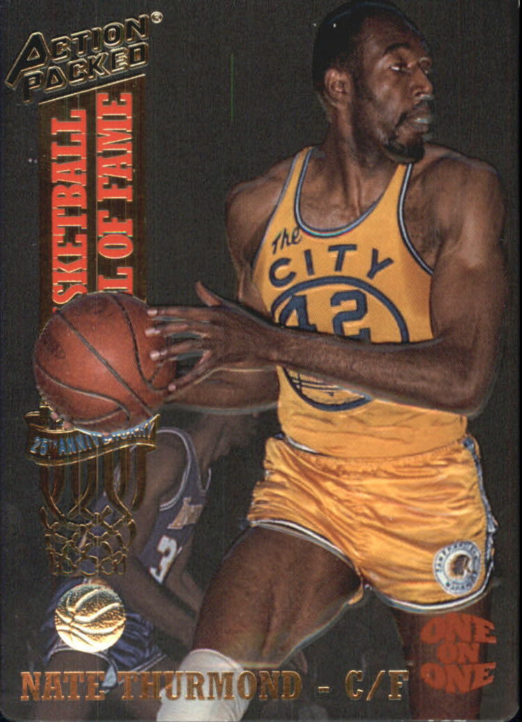 1993 Action Packed Hall of Fame #10 Nate Thurmond