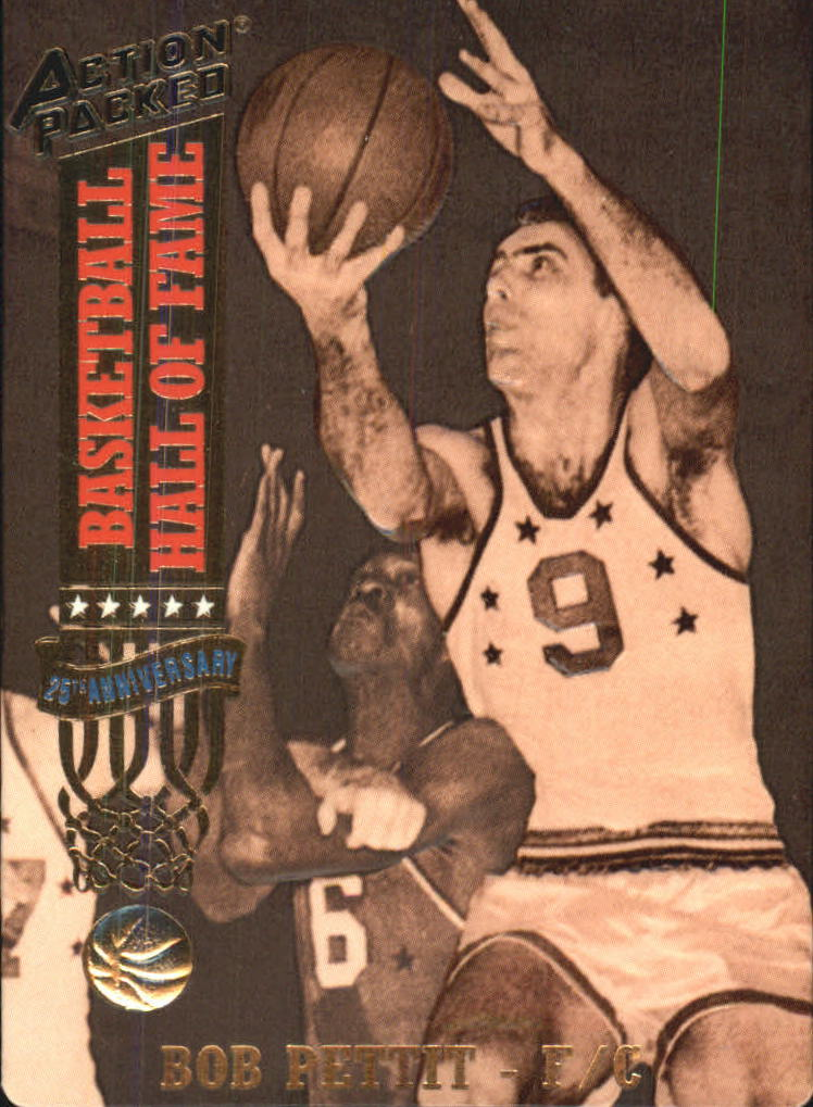 1993 Action Packed Hall of Fame #31 Bob Pettit