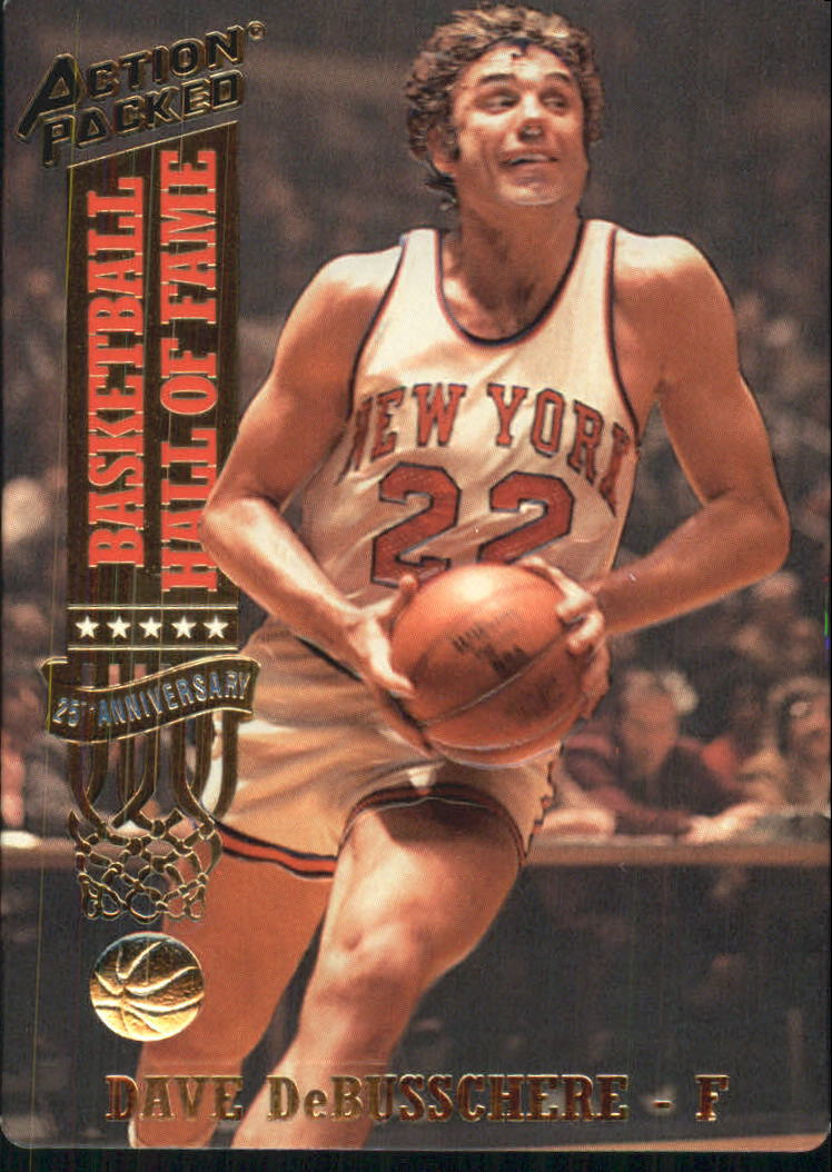 1993 Action Packed Hall of Fame #36 Dave DeBusschere