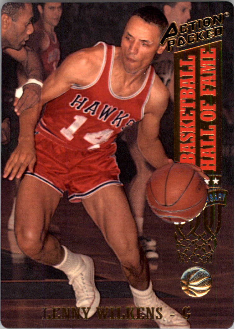 1993 Action Packed Hall of Fame #41 Lenny Wilkens