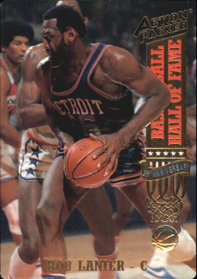 1993 Action Packed Hall of Fame #42 Bob Lanier